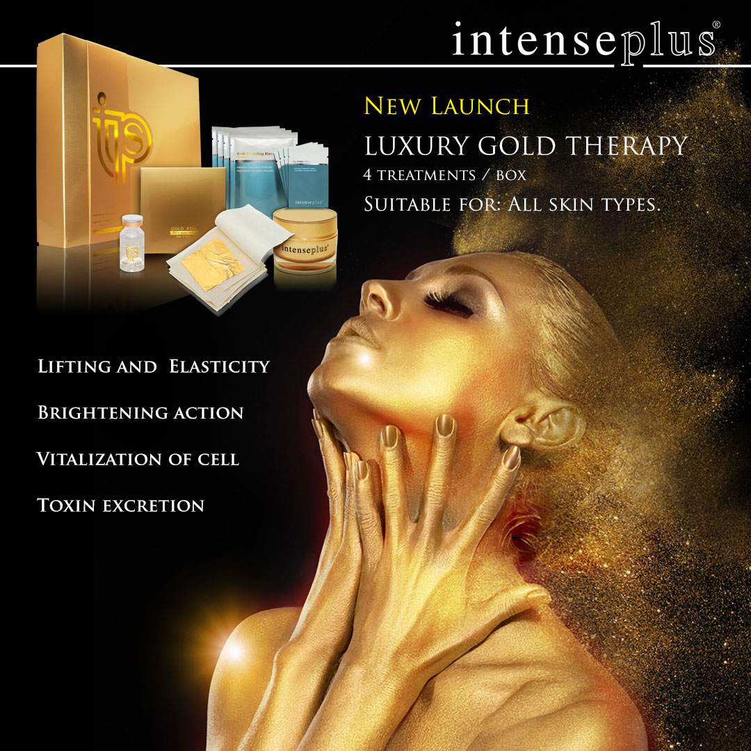 New Launch Luxury Gold Therapy