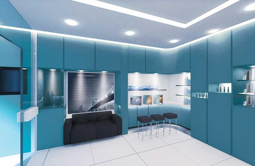 Exclusive Salon Interior Design Concept | Intenseplus